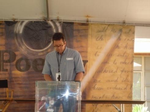 Poetry Tent, UCLA 4-26