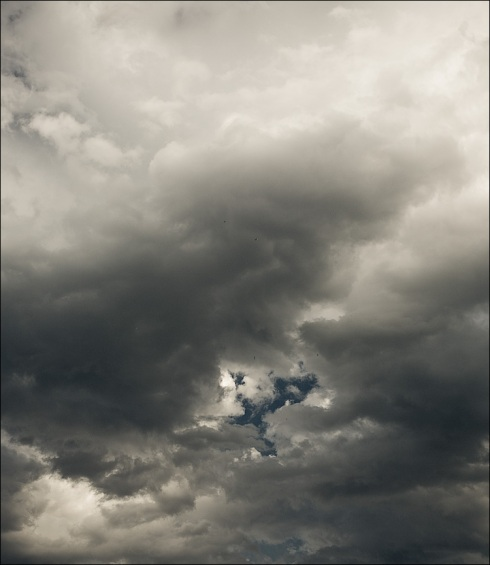 Clouds Swirl and Reform Quietly Overhead Knowing All About Everything