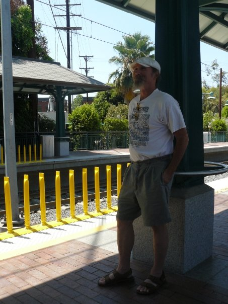 Dave on the Gold Line