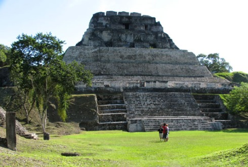 Xunantunich-Pyramid