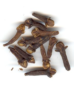6. CLOVES: by the dozen---dried flowers of an evergreen tree or nails pegging pungency to the tongue, your story of migration & imperialism, oceans & cook fires, islands & goats. Only this nail provided the essential tang across that distance, so lives on in stews of many continents.