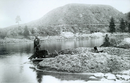 Chinese miners on the Salmon River