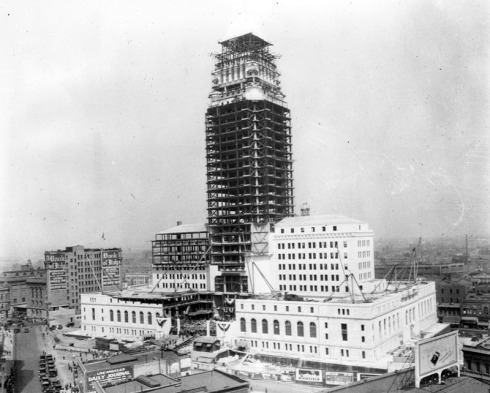 City_Hall_Construction_1927