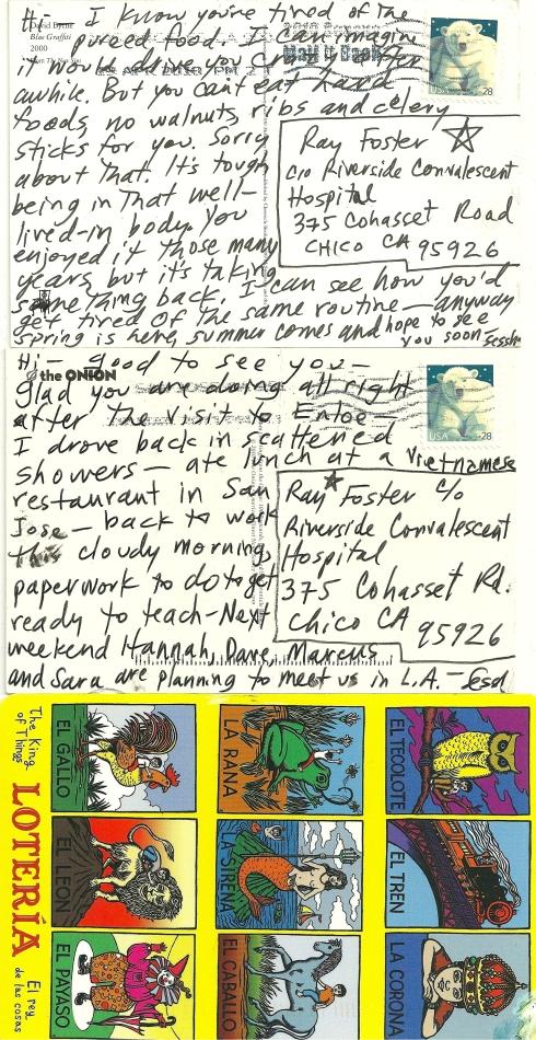 loteria postcards