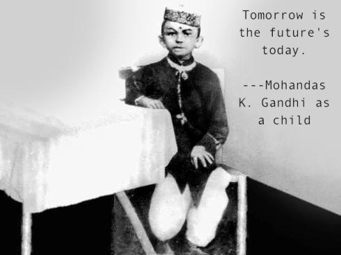 gandhi kid