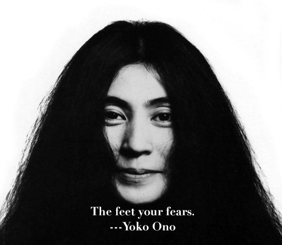 Yoko Ono Wig 80