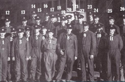 numbered crew