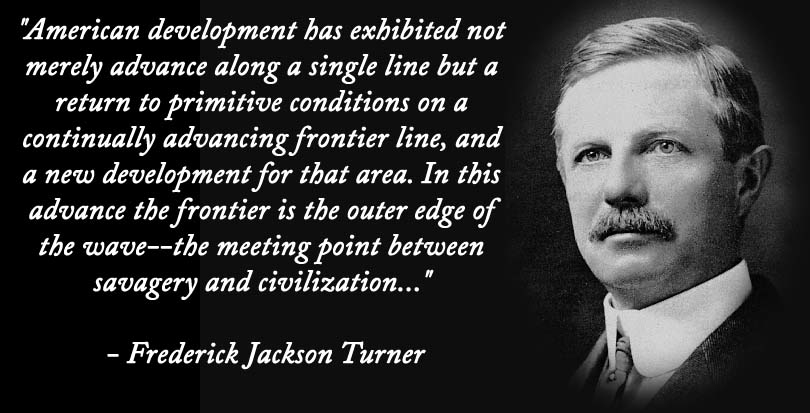 Frederick jackson turner frontier thesis answers