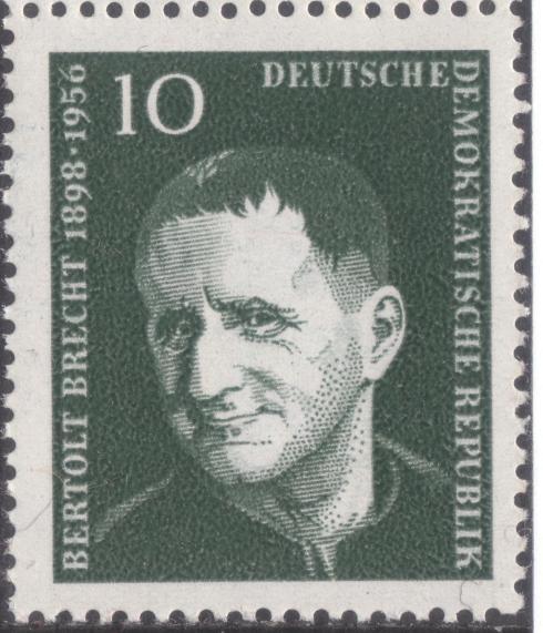 GDR-stamp,_Bertolt_Brecht,_10_Pf.,_1957_Mi._565