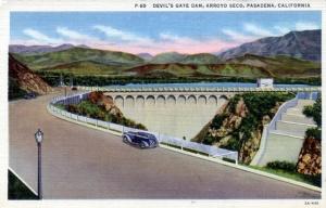devil's gate postcard