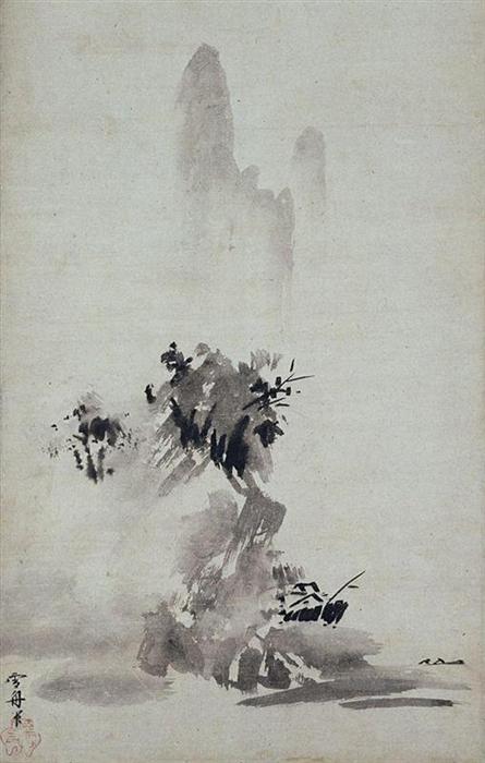 sesshu-toyo-landscape-ink-broken