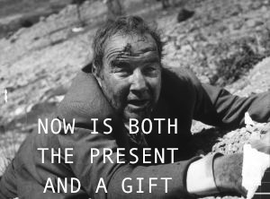 now is both the present and