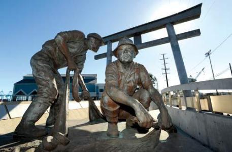 Terminal Island Furusato Memorial, San Pedro, CA: