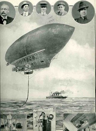 dirigible poster